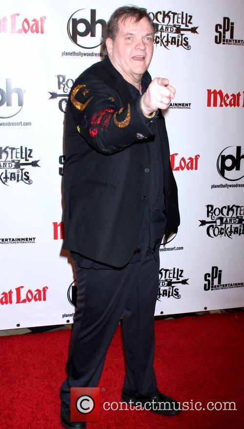 Meatloaf gets ready to rock Las Vegas