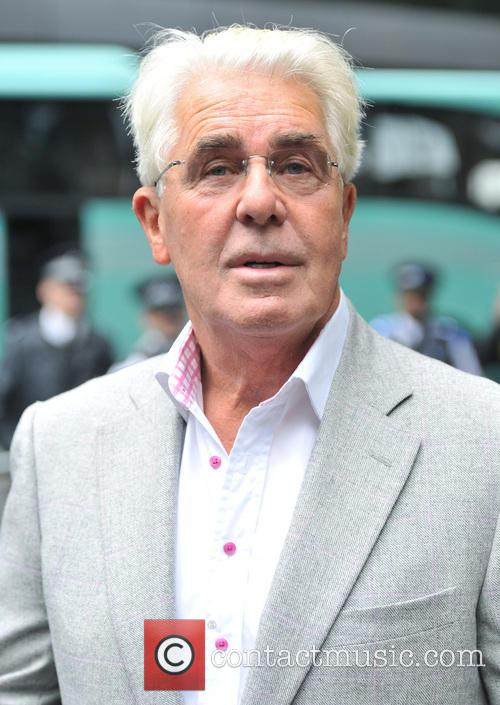 Max Clifford arrives for a hearing at Southwark...