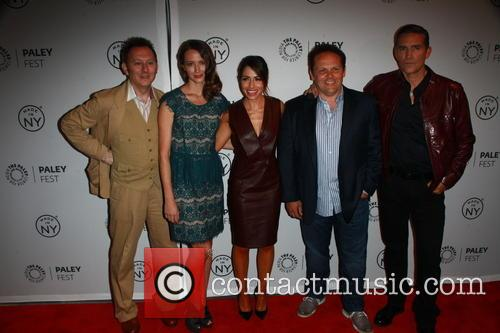 Michael Emerson, Amy Acker, Jim Caviezel, Sarah Shahi and Kevin Chapman 3