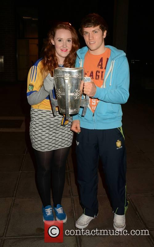 Shane O'Donnell & fan Sarah Moloney 1