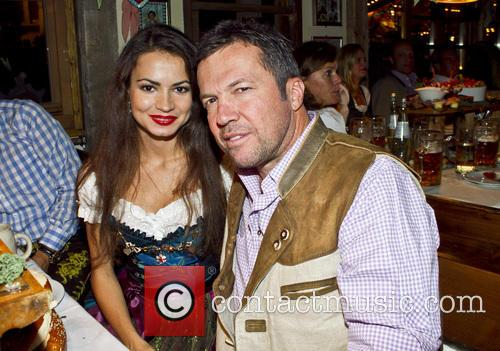 Lothar Matthaus and Anastasia 1