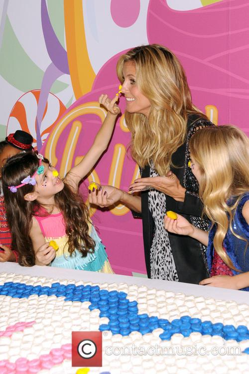 Heidi Klum presents her Truly Scrumptious collection