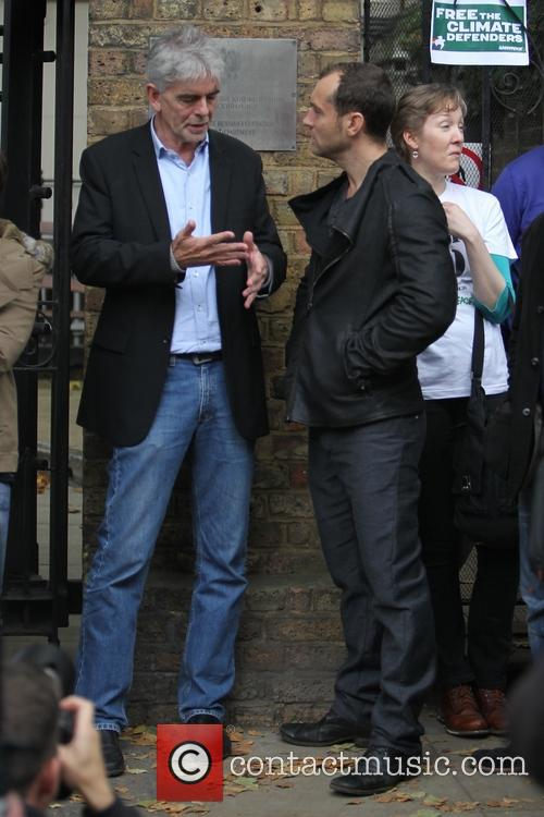 Jude Law and John Sauven 1