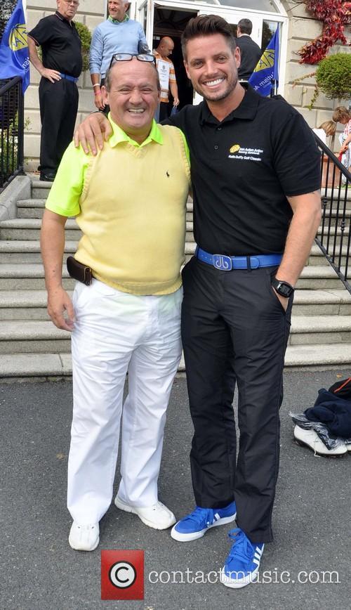 Brendan O'carroll and Keith Duffy 2
