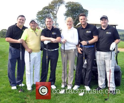 Simon Delaney, Brendan O'carroll, Danny O'carroll, Jennifer Gibney, Keith Duffy and Paddy Houlihan