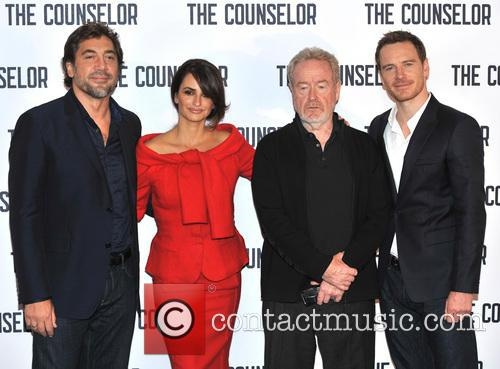 Javier Bardem, Penelope Cruz, Ridley Scott and Michael Fassbender 2