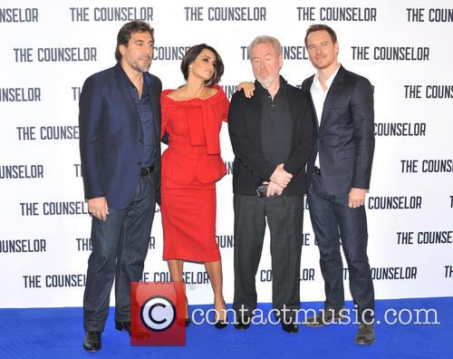 Javier Bardem, Penelope Cruz, Ridley Scott and Michael Fassbender 3