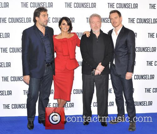 Javier Bardem, Penelope Cruz, Ridley Scott and Michael Fassbender 8