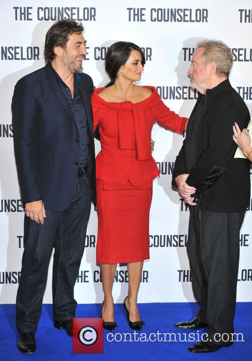 Javier Bardem, Penelope Cruz and Ridley Scott 5