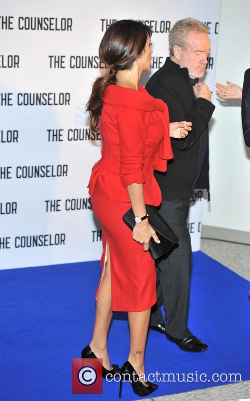 Penelope Cruz and Ridley Scott 4