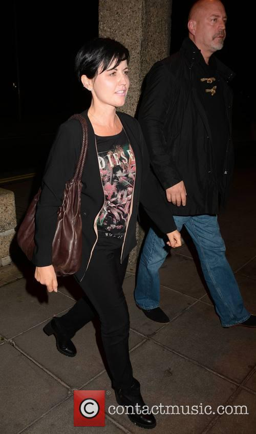 Dolores O'riordan and Husband Don Burton 3
