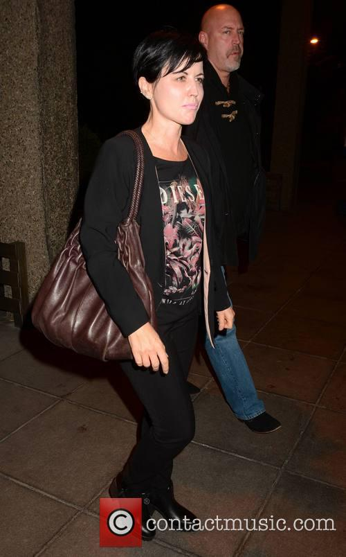 Dolores O'riordan and Husband Don Burton 4