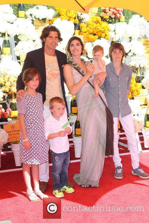Nacho Figueras, Delfina Blaquier and Kids 2
