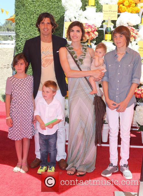 Nacho Figueras, Delfina Blaquier and Kids 7