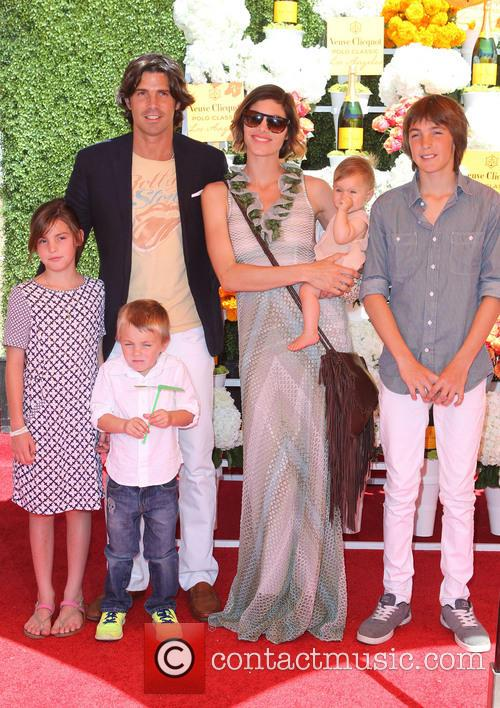 Nacho Figueras, Delfina Blaquier and Kids 8