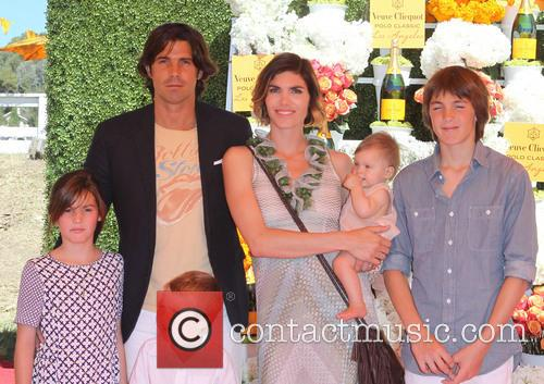 Nacho Figueras, Delfina Blaquier and Kids 9