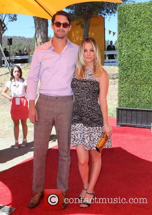 Ryan Sweeting and Kaley Cuoco 1