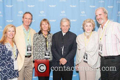 Magda Wesslund, Michael Schwartz, Susan Schwartz, Costa-gavras, Jennifer Coslett Maccready and Eric Schwartz
