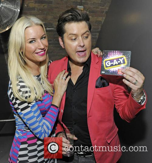 Denise Van Outen and Brian Dowling 5