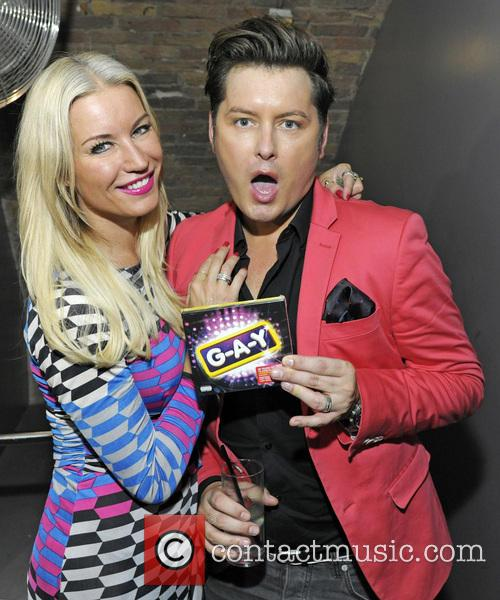Denise Van Outen and Brian Dowling 7