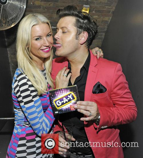 Denise Van Outen and Brian Dowling 9