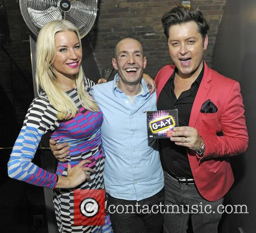 Denise Van Outen, Jeremy Joseph and Brian Dowling 8