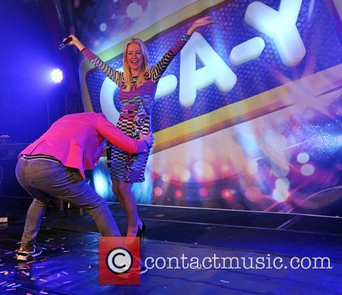 Denise Van Outen and Brian Dowling 1