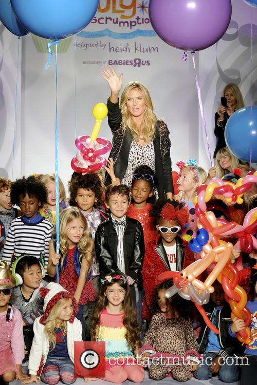 Heidi Klum presents her 'Truly Scrumptious' collection