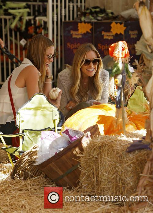Kristin Cavallarii visits Mr Bones Pumpkin Patch