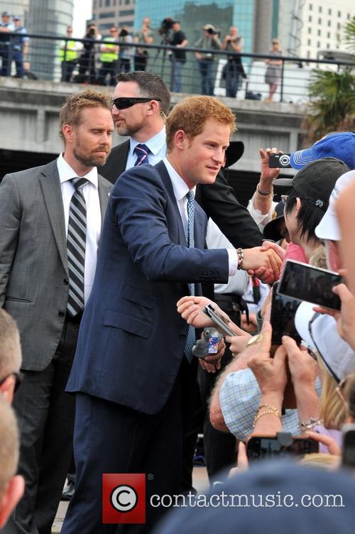 Prince Harry visits Australia