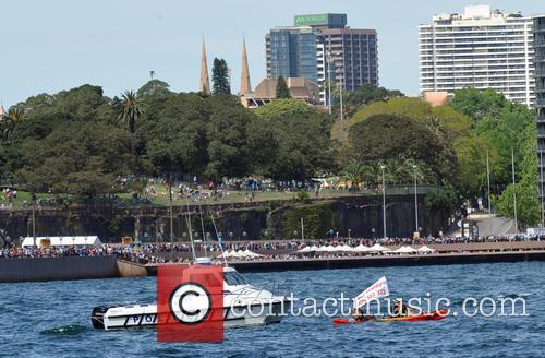 RAN 100th Anniversary celebrations on Sydney Harbour