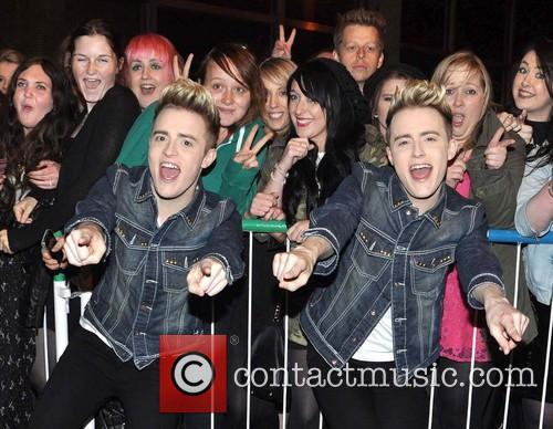 Jedward, John Grimes and Edward Grimes 9