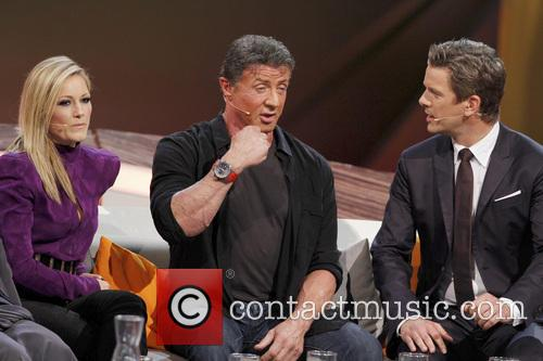 Helene Fischer, Sylvester Stallone and Markus Lanz 2