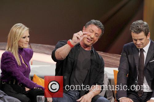 Helene Fischer, Sylvester Stallone and Markus Lanz 1