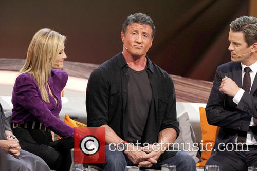 Helene Fischer, Sylvester Stallone and Markus Lanz 5