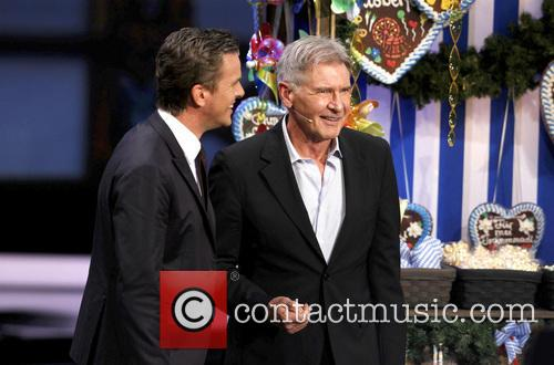 Markus Lanz and Harrison Ford 3