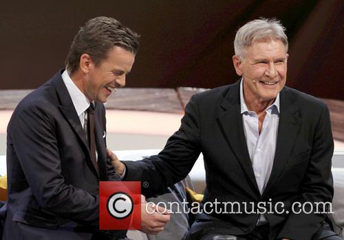 Markus Lanz and Harrison Ford 6
