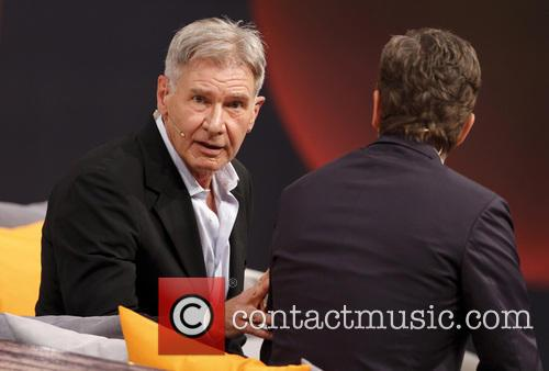 Markus Lanz and Harrison Ford 7