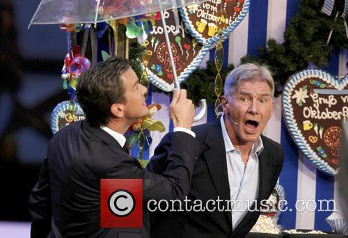 Markus Lanz and Harrison Ford 10