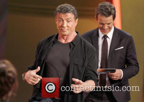 Sylvester Stallone and Markus Lanz 10