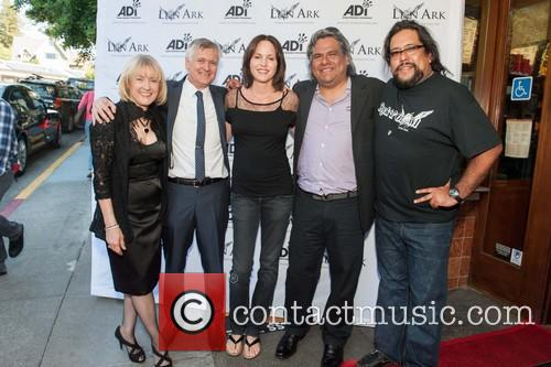 Jan Creamer, Tim Phillips, Jorja Fox, Alexis Vialinaco and Chano Vialinaco 2