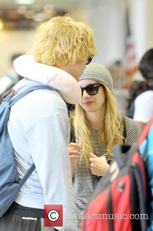 Emma Roberts and Evan Peters 17