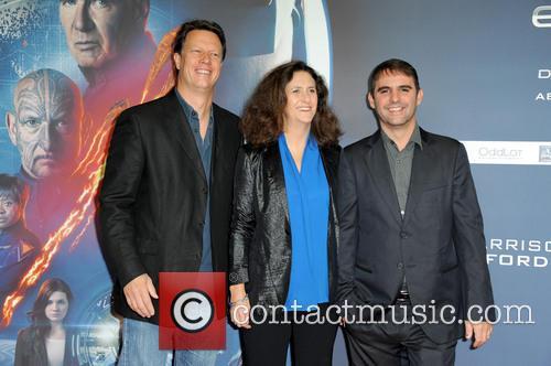 Gavin Hood, Gigi Pritzker and Roberto Orci 6
