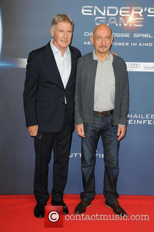 Harrison Ford and Ben Kingsley 4