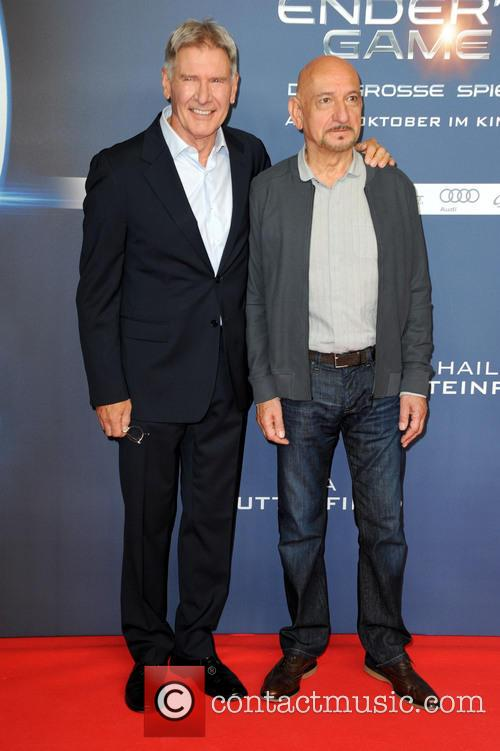 Harrison Ford and Ben Kingsley 6