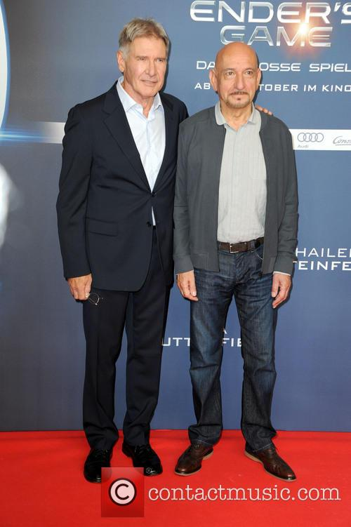 Harrison Ford and Ben Kingsley 1