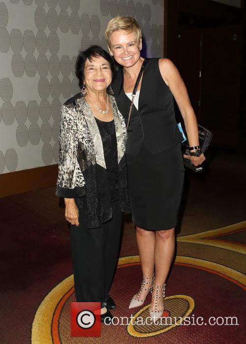 Dolores Huerta and Sue Dunlap 5