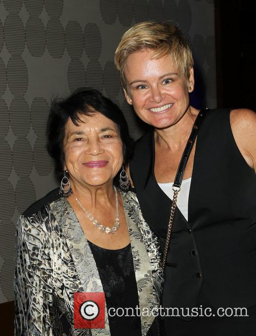 Dolores Huerta and Sue Dunlap 6