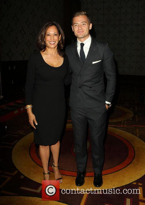 Kamala Harris and Robbie Rogers 8