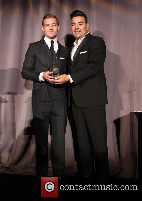 Robbie Rogers and The Honorable Ricardo Lara 2